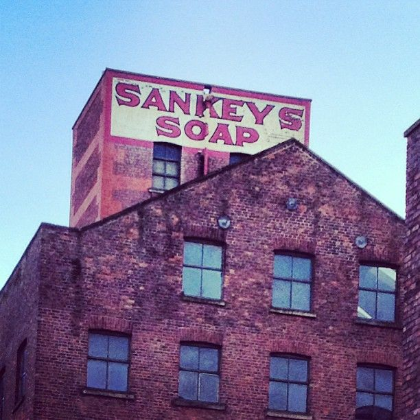 Sankeys Soap, first opened as a nightclub in 1994 and operated intermittently ever since, located inside Beehive Mill, Ancoats, Manchester, England, United Kingdom, 2013, photograph by Sophie Gardner.