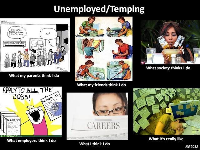 Unemployed/Temping meme: Unemployedtemp Meme, Unemployed Temp Meme, Unemploy Temp Meme