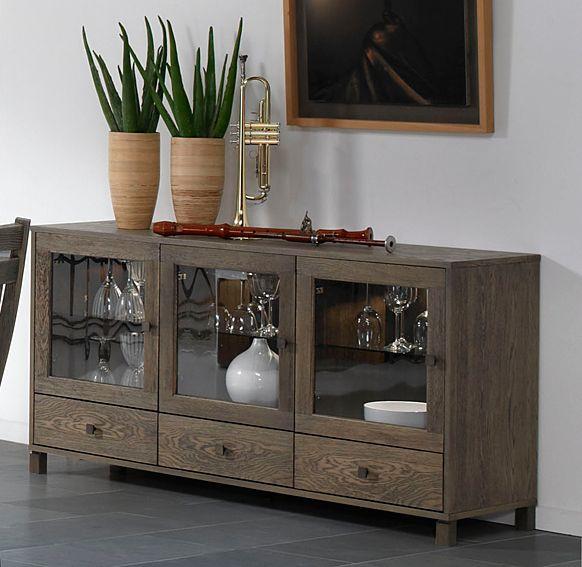 Ador 3 puertas colonial geranium material madera de roble for Mueble 6 puertas