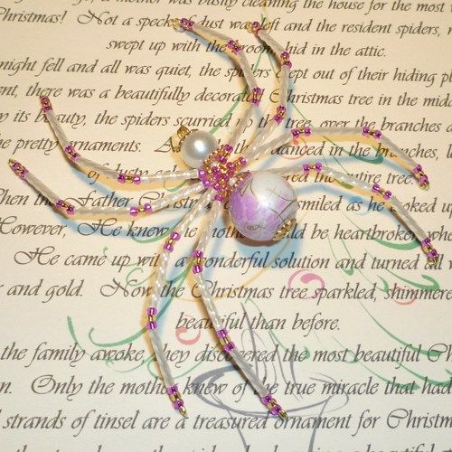 48 best Christmas Decorations/Crafts-Spiders images on Pinterest ...