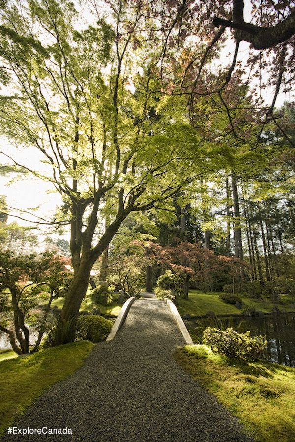 Nitobe Memorial Gardens at the University of British Columbia in Vancouver | @explorecanada