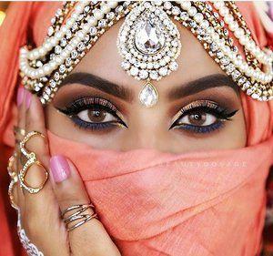 Indian Asian Matha Patti hijab headpiece tikka