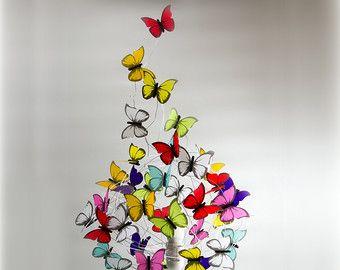 15 3D Schmetterling Wandkunst Assorted Multi von SimplyChicLily