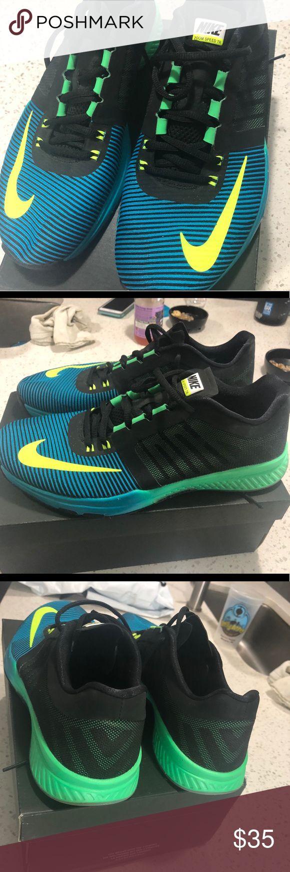 Nike Zoom Speed TR Blue/green Nike Zoom Speed TR Blue/green Nike Shoes Sneakers