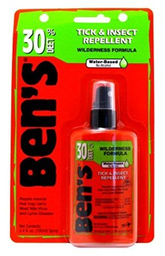 Bens Tick  Insect Repellent 30 Deet 34 Ounce Pump 100ml 2 Pack -- Click image to review more details.
