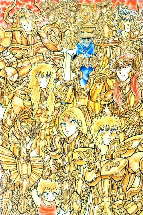 Gold Saint e la loro nazionalità...