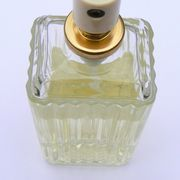 You may wish to reuse an empty perfume bottle or display a fancy or antique perfume bottle that you have held onto for several years. Running a perfume bottle through a dishwasher may crack or even break the bottle, and scrubbing the inside of the perfume bottle likely will not remove all of the perfume's fragrance from the bottle's interior....