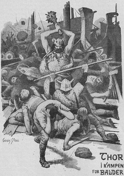 Thor - In Norse mythology, Thor (from Old Norse rr) is a hammer-wielding god associated with thunder, lightning, storms, oak trees, strength, the protection of mankind, and also hallowing, healing, and fertility. one-god-many-names health moi gluten-free