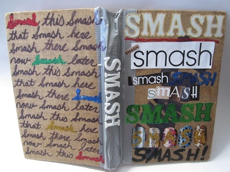 Create a one-of-a-kind SMASH book. -- Same thing as my Junk Journal! SOO much fun to make!