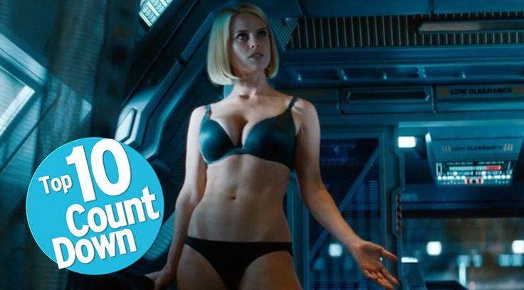Top 10 Needlessly Sexualized Female Movie Characters - I don't know about you.... but I'm not complaining.  xD