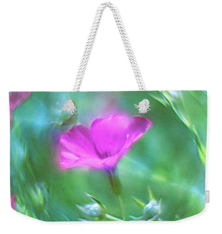 Weekender Tote Bag featuring the photograph Summer Song by Larysa Koryakina. Accessories, Home Decor.
