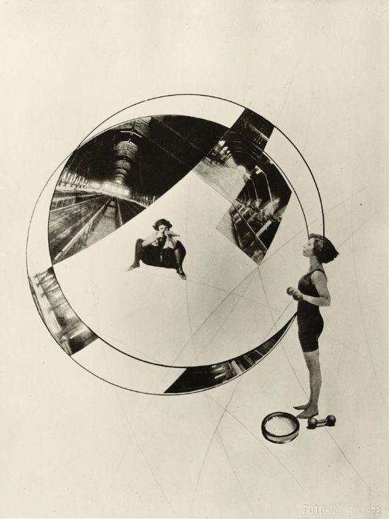László Moholy-Nagy-Love Your Neighbor; Murder on the RailwayLove Your Neighbor; Murder on the Railway, 1925