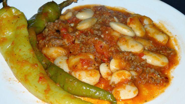 Turkse recepten,grote witte bonen,witte bonen stoofschotel,stoofschotel boterbonen,wereldkeuken,wereldrecepten,exotische recepten