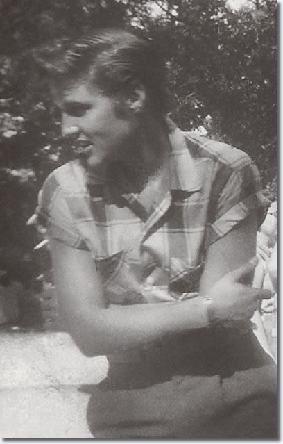 Elvis Presley : July 4, 1955 : Hodges Park : From the book, A Boy From Tupelo.