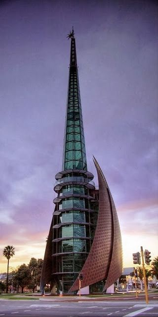 Swan Bell Tower In Perth Western Australia Again I Call