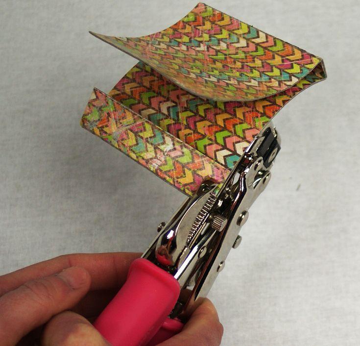 Make a Matchbook business card holder @savedbyloves | packaging ...