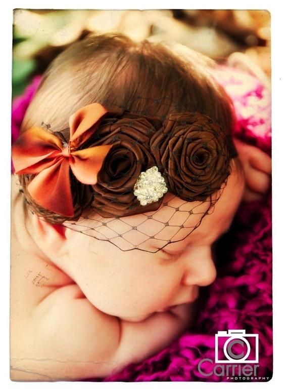 The sweetest little headbands!