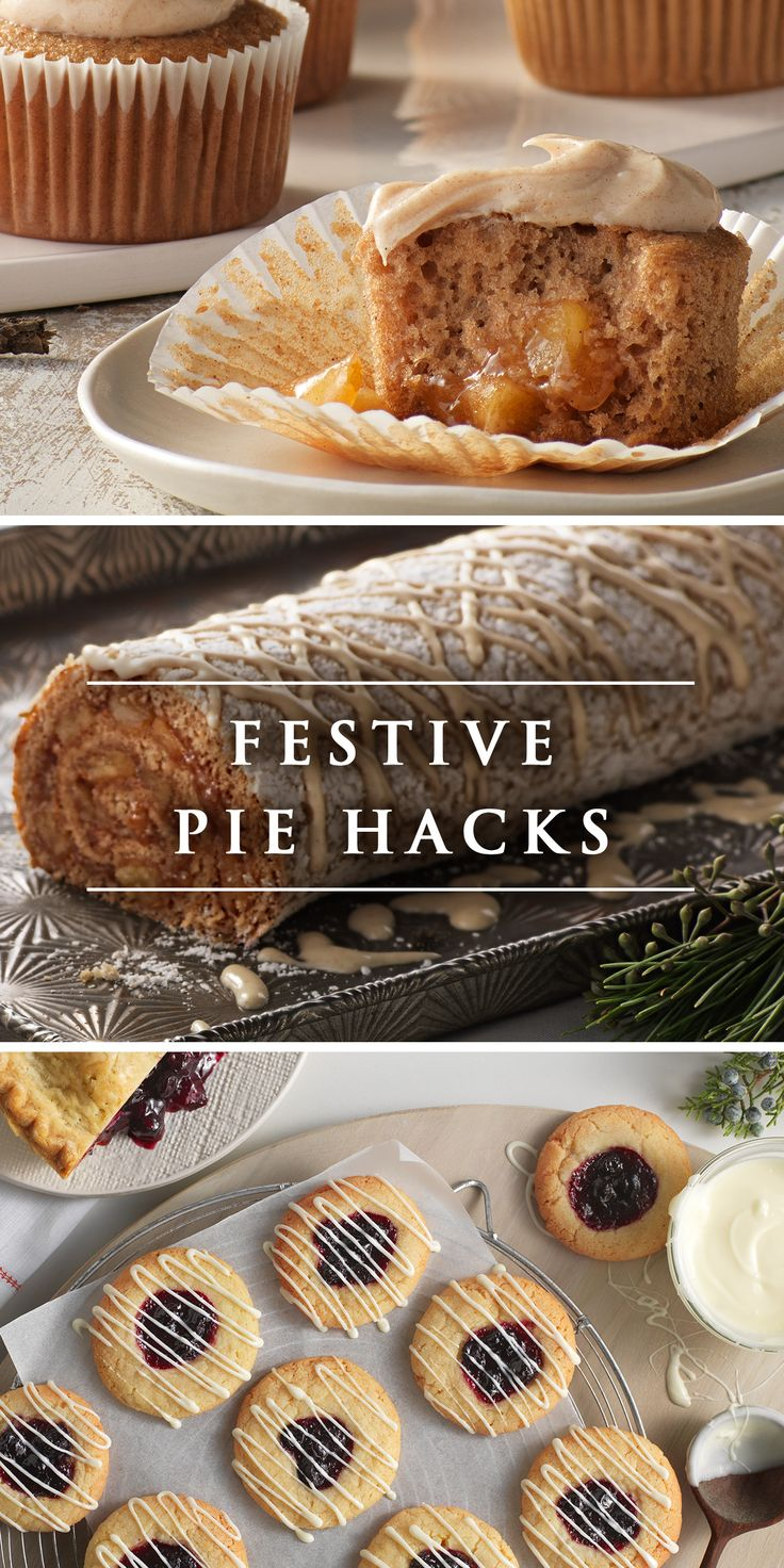 Leftover Pie? Use it to make delicious treats for the whole family with these ingenious festive pie hacks.
