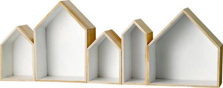Regal In Hausform : Wandregal, Bloomingville (5-tlg.) online kaufen ...