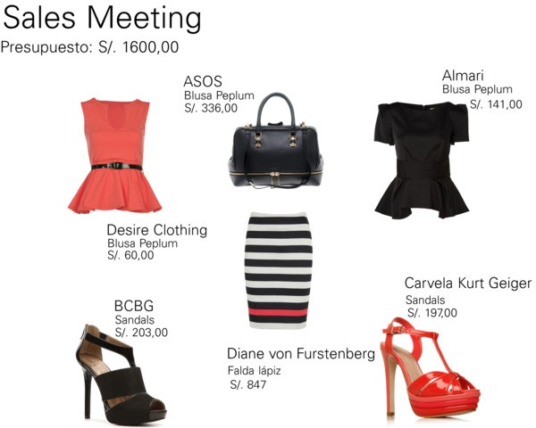 """Work Meeting"" by flor-zamora on Polyvore"