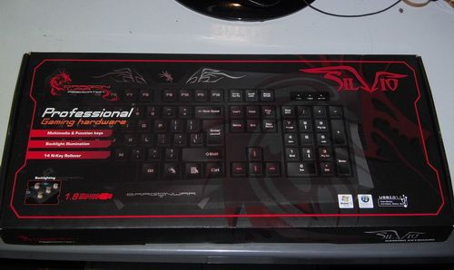 Keyboard Gaming - Dragon War - Silvio
