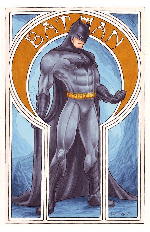 Tarot Superheroes Villains Other Comic Book Characters: 27 Best Art Nouveau Superheroes Images On Pinterest