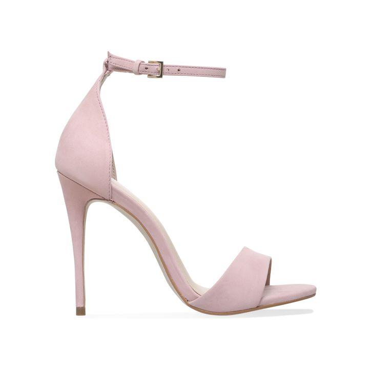 Glimmer Nude High Heel Sandals By Carvela Kurt Geiger | Kurt Geiger