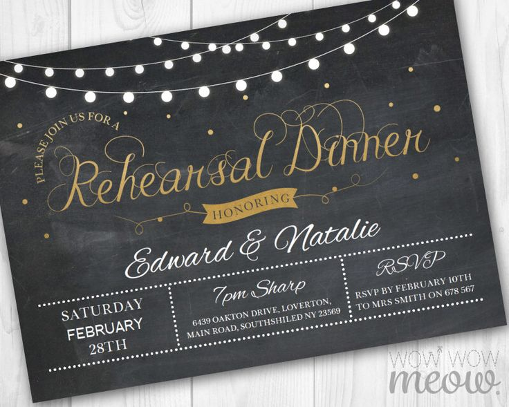 Rehearsal Dinner Invitation Chalk Black & Gold Elegant Invite Party DOWNLOAD Wedding Future Mr and Mrs Lights Personalize Editable Printable by wowwowmeow on Etsy https://www.etsy.com/listing/228390153/rehearsal-dinner-invitation-chalk-black