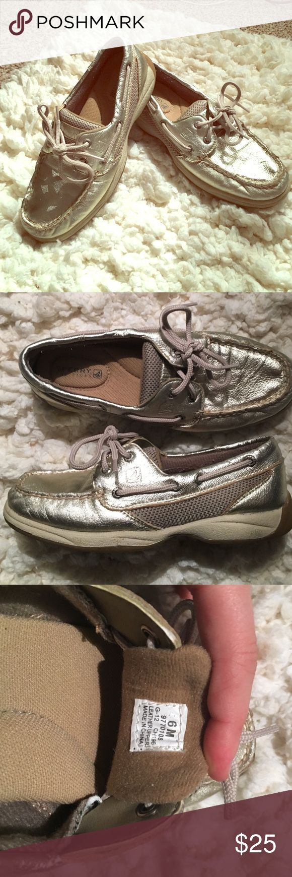 Selling this Sperry Top Sider Boat Shoes — Size 6 on Poshmark! My username is: lrm009. #shopmycloset #poshmark #fashion #shopping #style #forsale #Sperry Top-Sider #Shoes