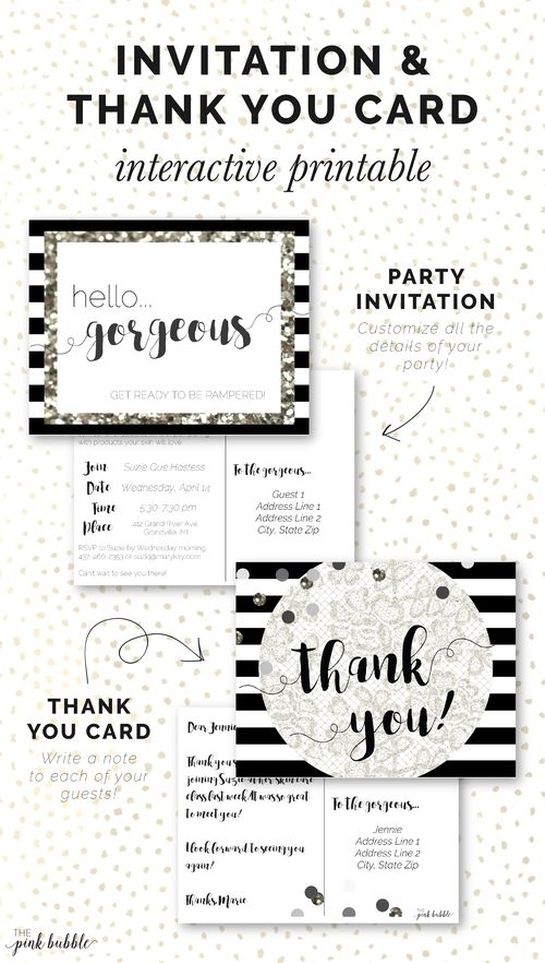 52 best images about Mary Kay Party Planning and Prep – Mary Kay Party Invitation