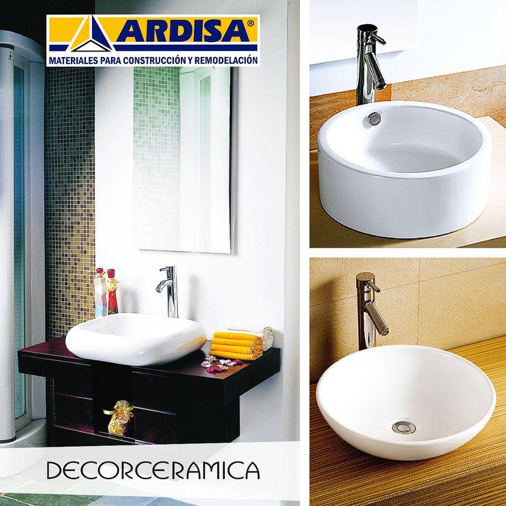 Encuentra las últimas tendencias en lavamanos, solo en ARDISA #Remodelación #Hogar #Cerámica