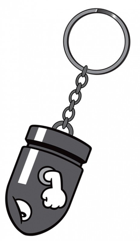 Nintendo Bullit Bill Rubber Keychain | Keychains | The A Factor Shop