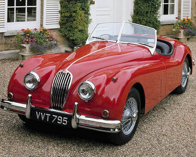 1956 Jaguar XK140 Roadster....Re-pin...Brought to you by #CarInsurance at #HouseofInsurance in Eugene, Oregon
