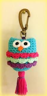 llaveros tejidos a crochet - Buscar con Google