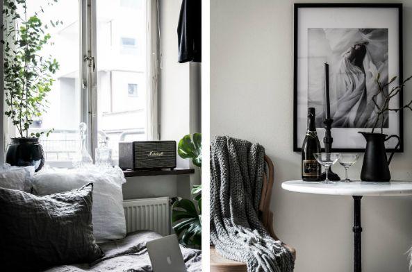 interior yang mewah modern apartemen kecil