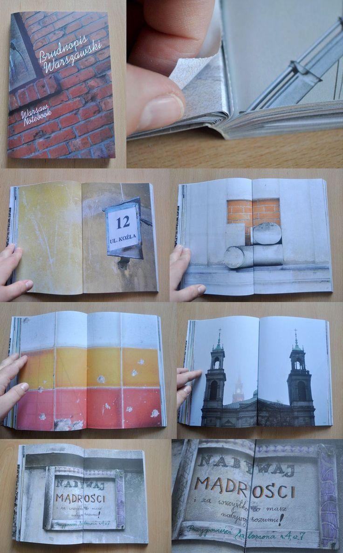 notes notatnik rysowanie po ścianach Brudnopis Warszawski