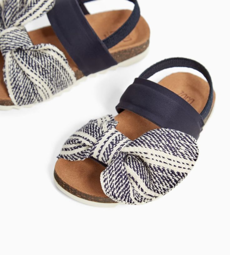 SANDALS WITH BOW-NEW IN-BABY GIRL | 3 months - 4 years-