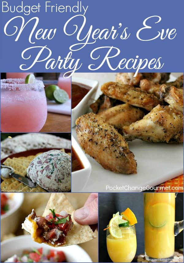 Budget-Friendly New Year's Eve Party Recipes from HoosierHomemade.com