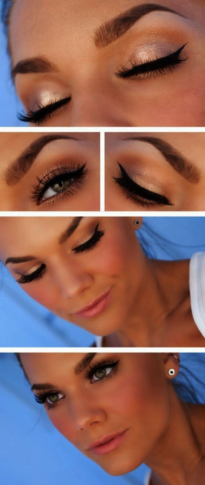 Simple Makeup Pictures Natural Makeup Looks For Brown Eyes