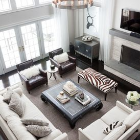 Family living room, in real life it is more spacious
