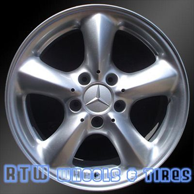 Mercedes c230 c320 clk320 17 39 factory wheel stock alloy for Mercedes benz factory rims
