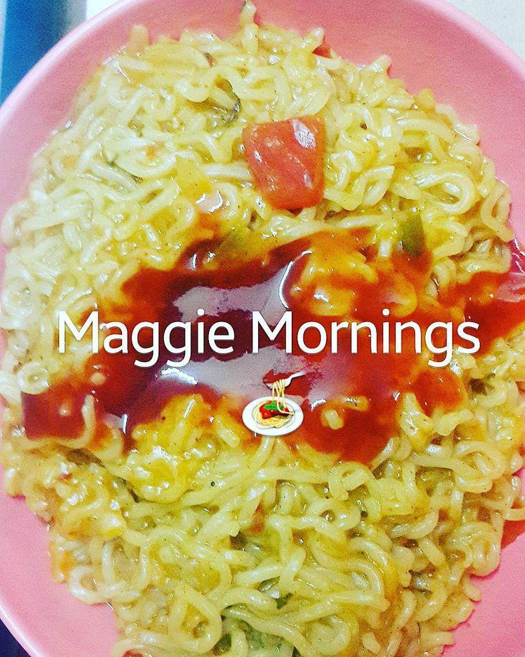 Maggi Mornings  #merimaggi   #noodles #maggi #nestle #foodgasm #foodorgasm #foodtalk #foodtruck #foodtrucks #foodtime #chefstagram #fitfood #FuelUp #FoodIsFuel #FitForLife #Nutrition #fitstagram #fitfam #foodfoodfood #cookedbyme #cooked #cookingisfun #CookingPanda #foodie #foodiesofinstagram #SlowCarb #foodporno #foodfoodfood #foodstylist #foodgram