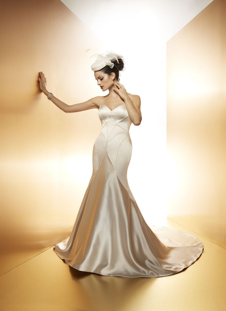 7 best Matthew Christopher images on Pinterest | Short wedding gowns ...