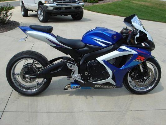2007 Suzuki gsxr 600 $4,400 Or best offer - 100228122 | Custom ...