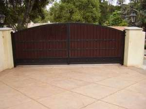 Wrought Iron Gates : Driveway Gates : Garage Door Repair : Custom Wood Gates : Electric Gates Los Angeles : Pasadena : Santa Monica : Van Nu...