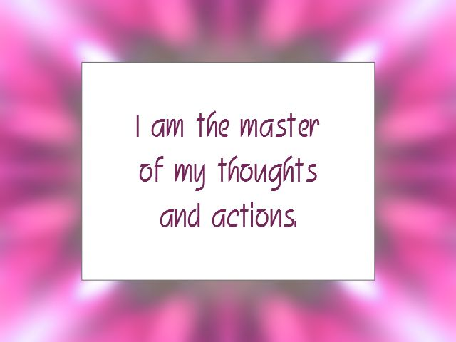 Daily Affirmation for January 12, 2014