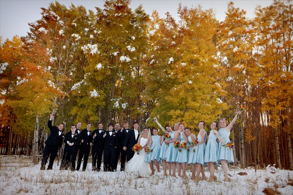 Fall and Winter Wedding! Angel Fire Resort - New Mexico.