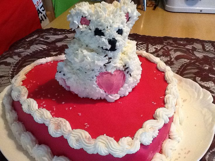 Valentins Teddy Von The Pink Baking Girl
