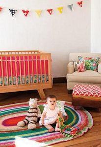 Dormitorio de bebé hippie chic