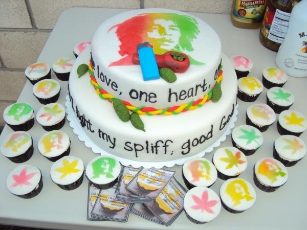 The 25 best Bob marley cakes ideas on Pinterest Bob marley